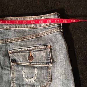 Apt. 9 Skirts - Stretch Denim Skirt
